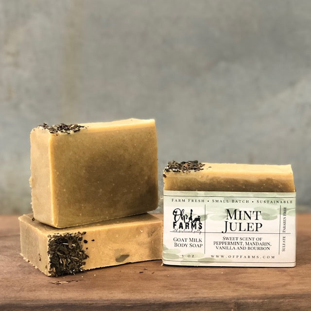 Mint Julep, Goat Milk Soap (New)