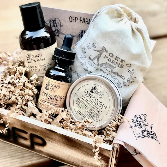 Beard Gift Set in Wooden Box