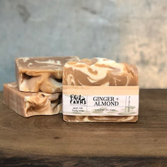 Ginger Almond, Goat Milk Soap