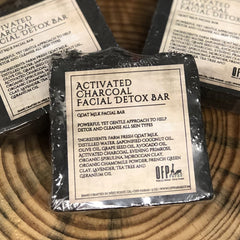 Facial Bar, Goat Milk and Activated Charcoal