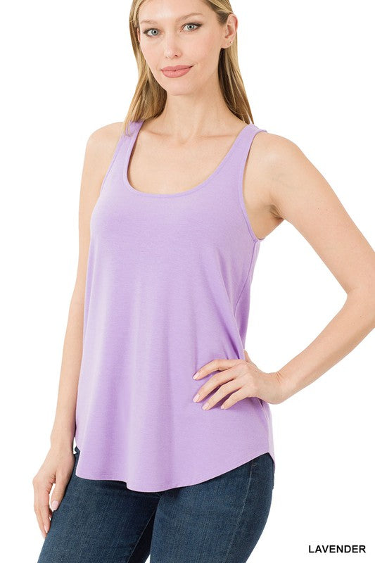 Laid Back Lavender Tank-(All Sizes)