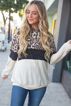 Load image into Gallery viewer, Cashmere Feels Leopard Hoodie-ALL SIZES