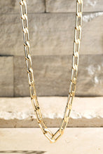 Load image into Gallery viewer, Linked Choker Necklace (Silver or Gold)