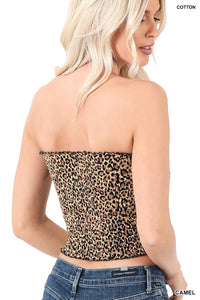 Animal Instincts Tube Top-(Small to XL)