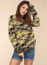Load image into Gallery viewer, Camouflage It Up Sweater-(Small to Large)