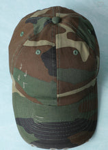Load image into Gallery viewer, Worn Out Baseball Hat-Camouflage