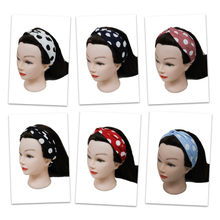 Load image into Gallery viewer, Pin Up Polka Dot Twist Headbands