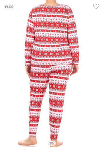 Rudolph The Red Nose Reindeer Pajama Set-(Small to 3X)