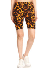 Load image into Gallery viewer, Leopard Print Biker Shorts-ALL SIZES