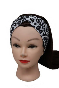 Animal Printed Boho Chic Headbands