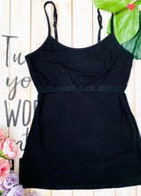 Load image into Gallery viewer, The Perfect Bra Shelf Cami-Black (ALL SIZES)