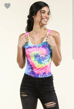 Load image into Gallery viewer, Rainbow Tie Dye Bodysuit
