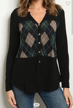 Load image into Gallery viewer, First Class Plaid Top-(Small to Large)