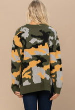 Load image into Gallery viewer, Digital Camouflage Sweater-ALL SIZES