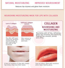 Load image into Gallery viewer, Moisturizing collagen lip plumping treatment