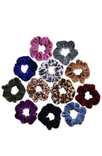Load image into Gallery viewer, Assorted Velvet Hair Scrunchies