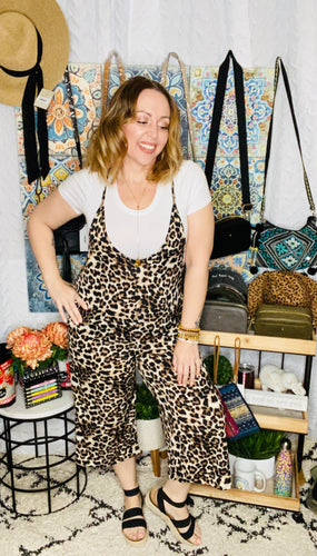 Meow You're Talking Jumpsuit-(All Sizes)