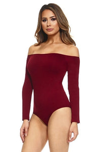 Wine Shapewear Bodysuit-ALL SIZES