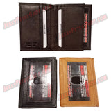 #389-B SLIM/Front Pocket, Also Known As A Vertical Wallet, 3 ID Window Slots (Including 1 Outside ID) & 8 Credit Card Slots Pic 2