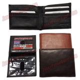 #62317 RFID Protected Leather BIFOLD Wallet, Removable ID Holder With 2 ID Slots & 7 Credit Card Slots, Pic 3