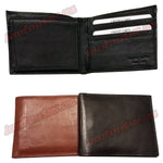 #62317 RFID Protected Leather BIFOLD Wallet, Removable ID Holder With 2 ID Slots & 7 Credit Card Slots