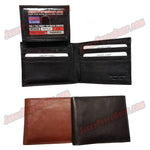 #62317 RFID Protected Leather BIFOLD Wallet, Removable ID Holder With 2 ID Slots & 7 Credit Card Slots, Pic 2