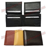 #3322 BIFOLD Leather Wallet, 2 Flip Up IDs, 10 Credit Card Slots Pic 2