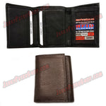 #62368 RFID Protected Leather TRIFOLD Wallet, 2 ID Window Slots, 9 Credit Card Slots & 2 Pockets, Pic 2