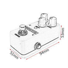 Load image into Gallery viewer, Kokko FDS2 Mini Distortion Guitar Effect Pedal