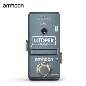 ammoon AP-09 Nano Series Looper Effect Pedal - gray