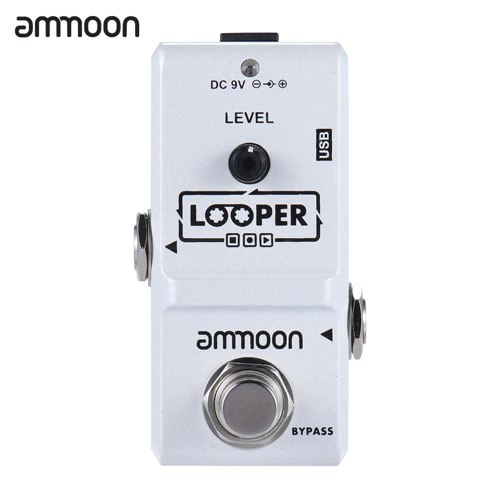 ammoon AP-09 Nano Series Looper Effect Pedal - white