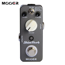 Load image into Gallery viewer, New MOOER ShimVerb Mini Reverb Pedal