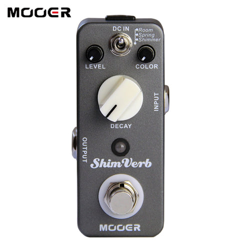 New MOOER ShimVerb Mini Reverb Pedal