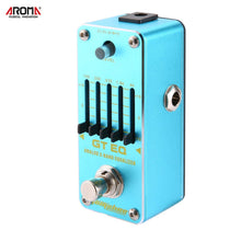 Load image into Gallery viewer, New Aroma AEG-3 GT EQ Mini Analog 5-Band Equalizer Guitar Effect Pedal