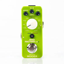 Load image into Gallery viewer, New MOOER The Mod Factory - 11 Classic Mini Modulation Guitar Effects Pedal