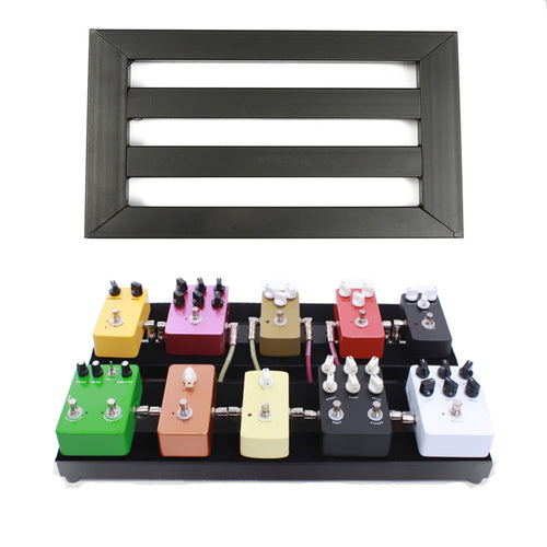 Electric Guitar Pedal Boards Effects Pedal Board Cases w/ Adhesive Backing Tape