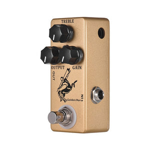 MOSKY Golden Horse Clean Boost Guitar Effect Pedal