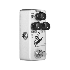MOSKY Silver Horse Overdrive Clean Boost Guitar Effect Pedal