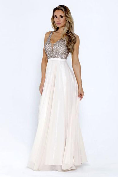 Long Sweetheart Cute Evening Gowns AC776-Evening Dresses-smcfashion.com