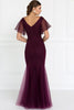 Beautiful V-neck Evening Long Formal Dresses GSGL1576-Evening Dresses-smcfashion.com