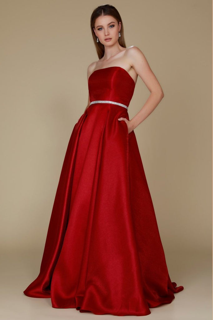 Burgundy Wholesale Elegant Prom Gown NXY154