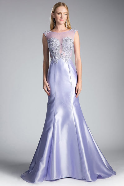 Trumpet Dresses for Formal Evening CD8984A-Long Dresses-smcfashion.com