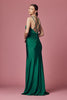 Black Halter Neckline Cocktail Short Dress NX6348