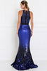Illusion Mermaid Long Gowns GSGL1505-Prom Dresses-smcfashion.com