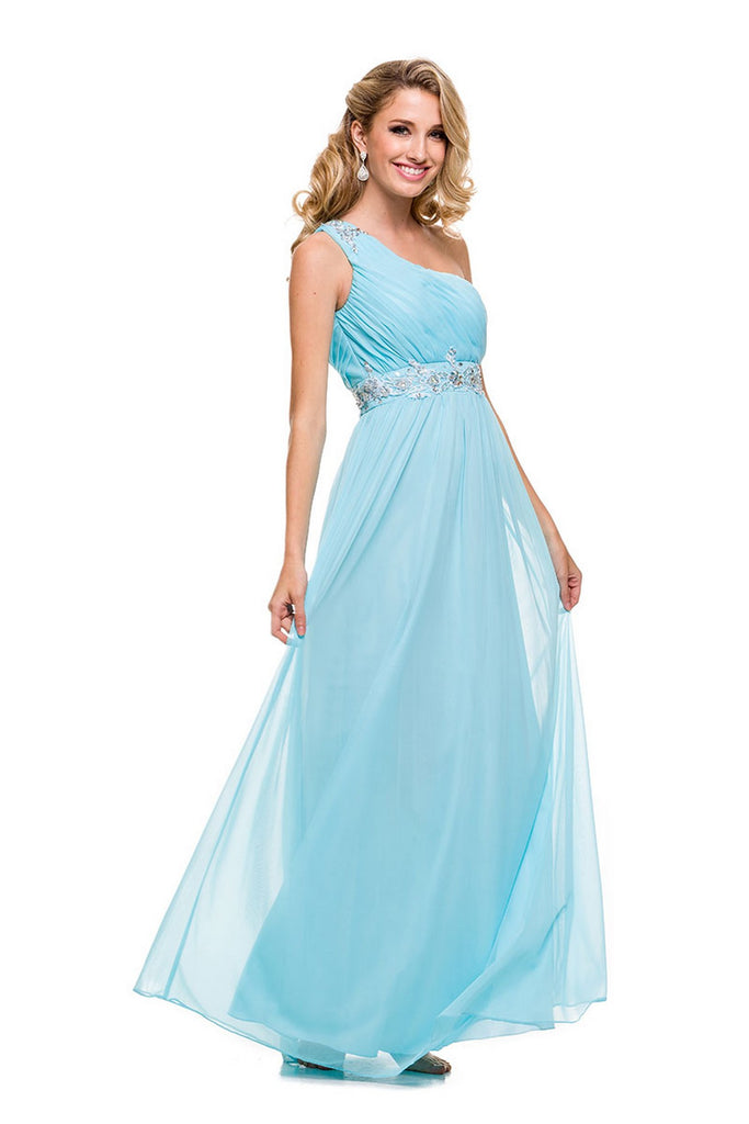 A-Line Bridesmaid Maxi Length Dress NXM130