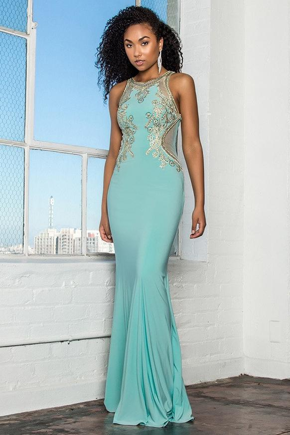 Wholesale Long Cute Prom Gowns GSGL2321-Sale-smcfashion.com