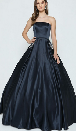 Sleeveless Strapless Bridesmaid Long Dress JT#372