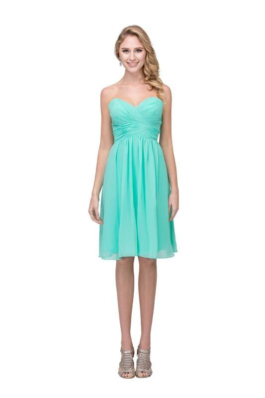 2018 New Beautiful Cocktail Short Dress SB6016-1