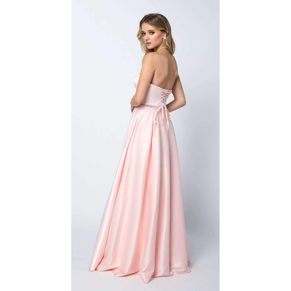 Sweetheart Neckline A-Line Long Evening Dress JT688