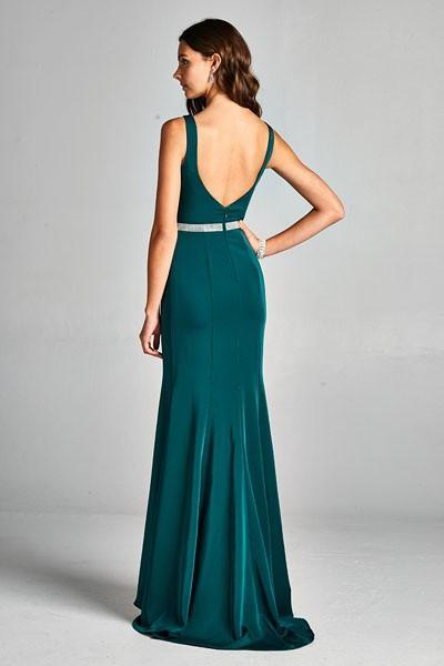 Celebrity Evening Dresses with Low Back APL1795A-Evening Dresses-smcfashion.com